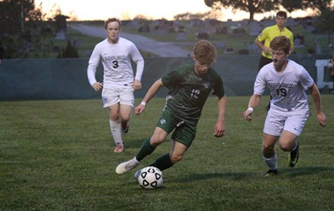 Boys' soccer comes through in a must-win face-off with Basehor-Linwood