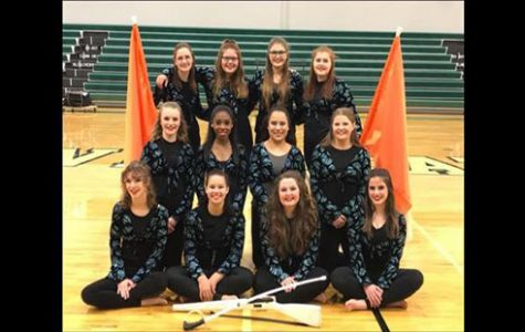 Winter guard prepares to compete for first time in DHS history