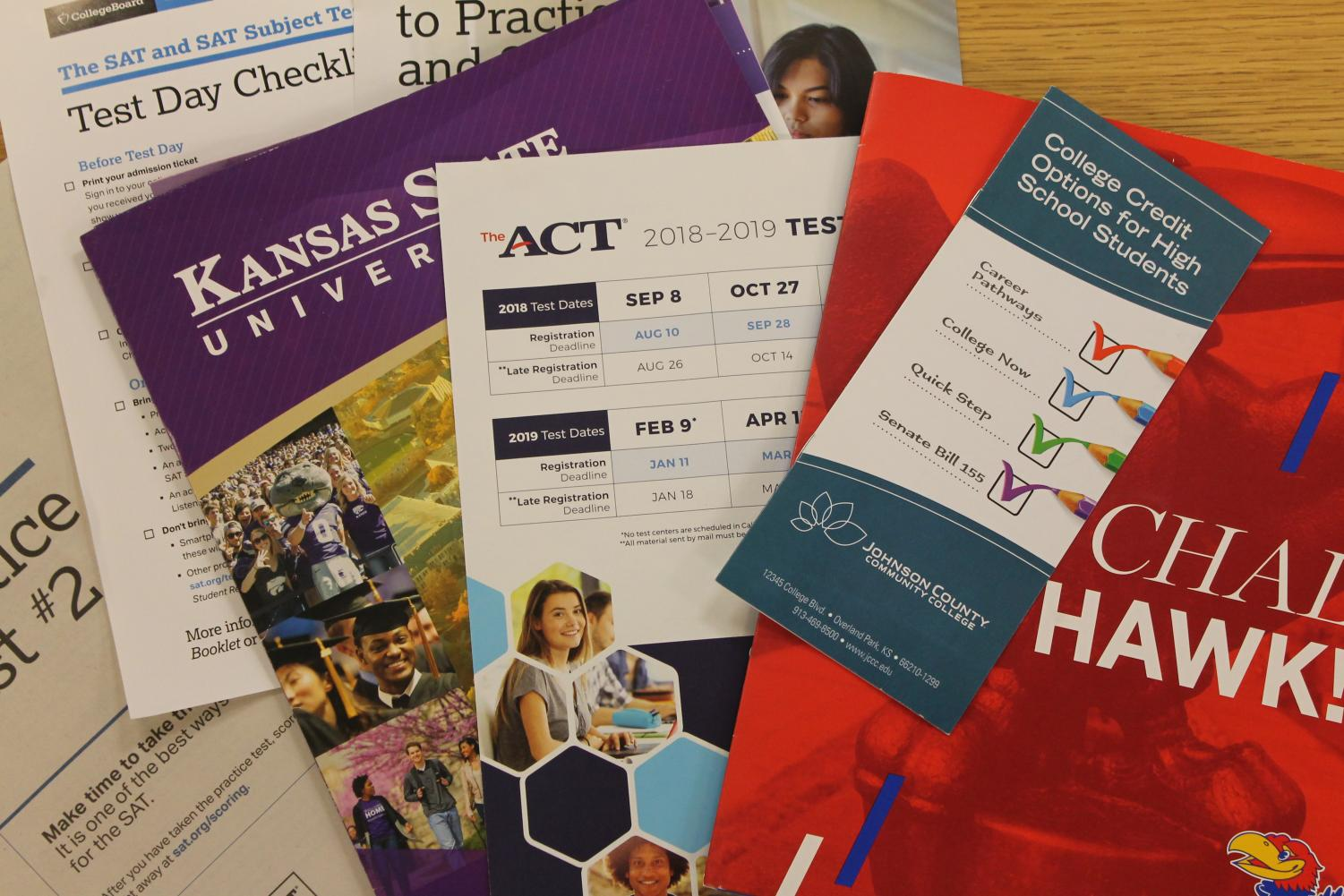 In edition to taking the ACT and SAT, De Soto High School offers Pre-ACT in hopes to prepare students.