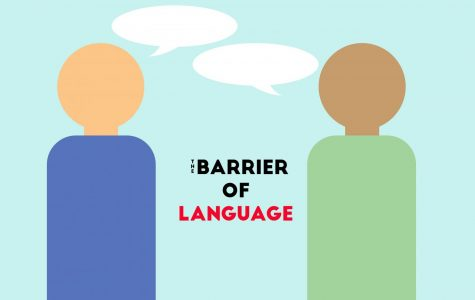 The barrier of language