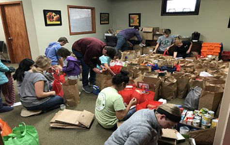 NHS packages meals for families in need