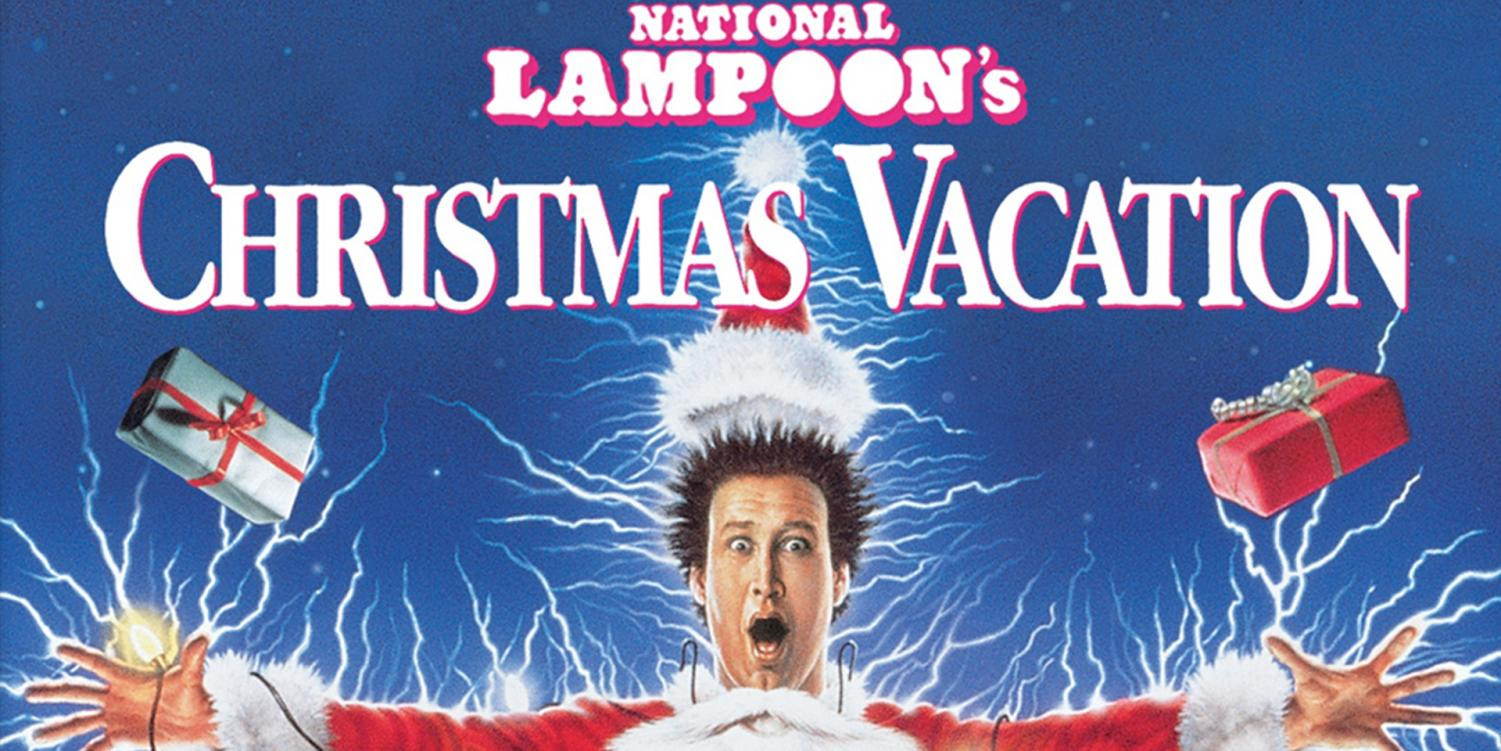 National Lampoon's Christmas Vacation movie cover.