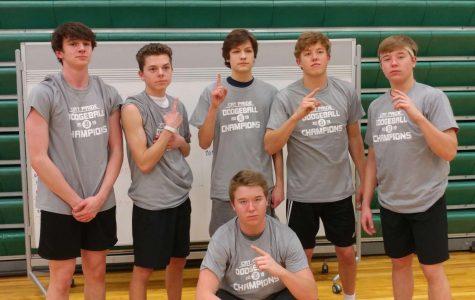 Students participate in annual dodgeball tournament