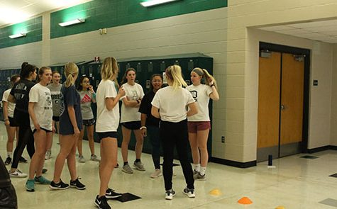 Girls soccer begins conditioning in preparation for upcoming season