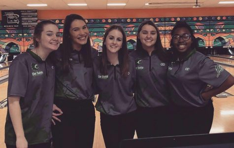 Girls bowling team wins first place at Baker