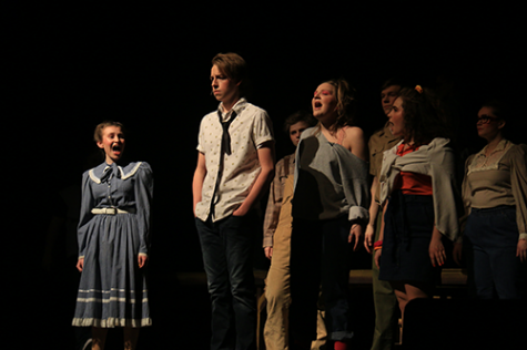 DHS students prepare for the fall musical: Guys and Dolls