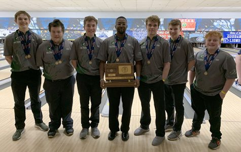 Bowling teams compete together at State for the first time in school history