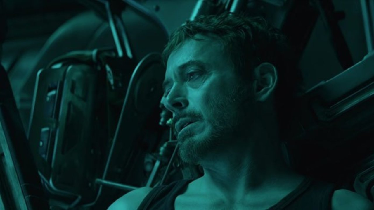 Robert Downey Jr. as Tony Stark in Avengers: Endgame, the 23rd installment of the Marvel Cinematic Universe, also known as the MCU.
