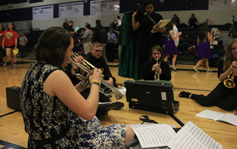 Band and choir students perform at Regional Festival