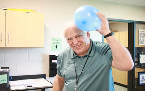 Ron Lewis comes out of retirement to long-term sub for DHS physics