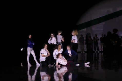 K-pop club,Smokebomb, perform a dance at the prom pep assembly on April 26