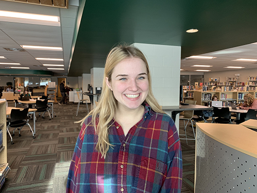Senior Madeline Merckling was accepted into the prestigious SELF program at the University of Kansas.