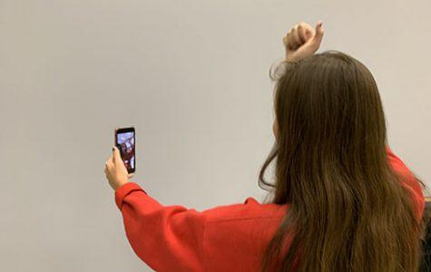 De Soto students enjoying popular social media platform Tik Tok