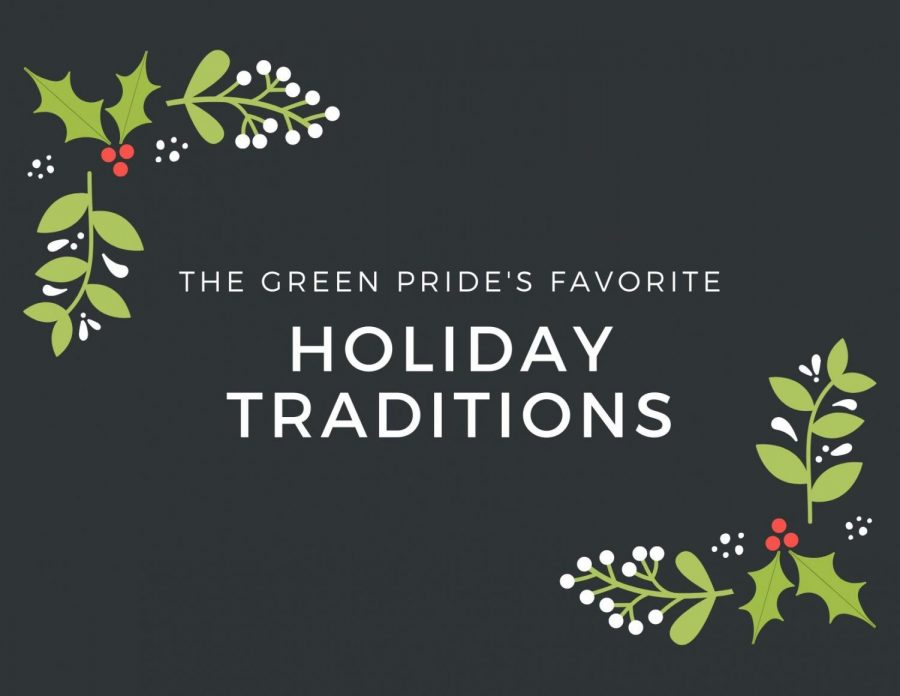 Green Pride staff shares favorite holiday traditions