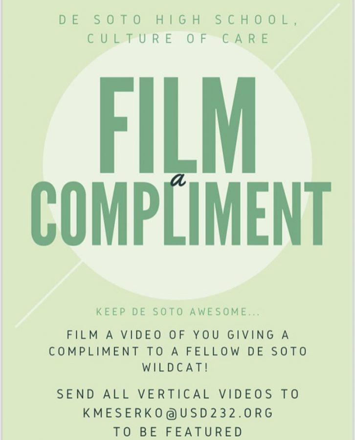 De Soto's new program: Film a Compliment