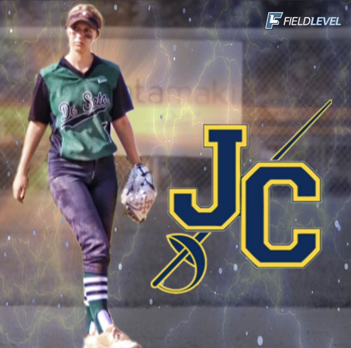 Senior Jordan Diehl commits to Johnson County Community College to pursue her academic and athletic softball career.