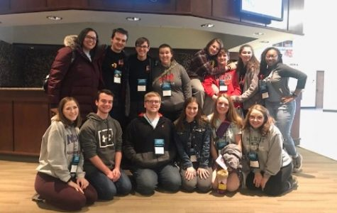Members of De Soto High School Thespians attend Thescon in Wichita on Jan. 11, 2020.
