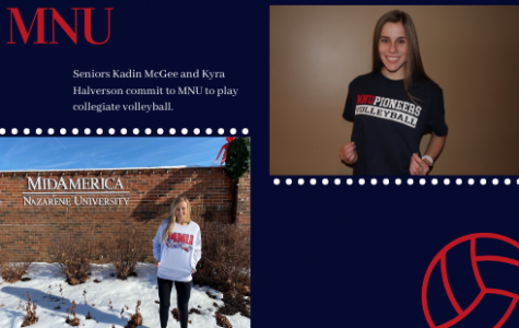 Seniors commit to MidAmerica Nazarene University to play collegiate volleyball
