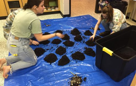 Senior begins to create school-wide compost