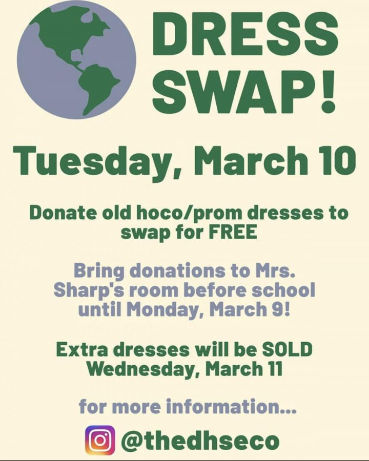 DHS+Environmental+Council+organizes+dress+swap+to+promote+sustainable+practices