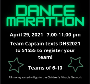 DHS to host Dance Marathon