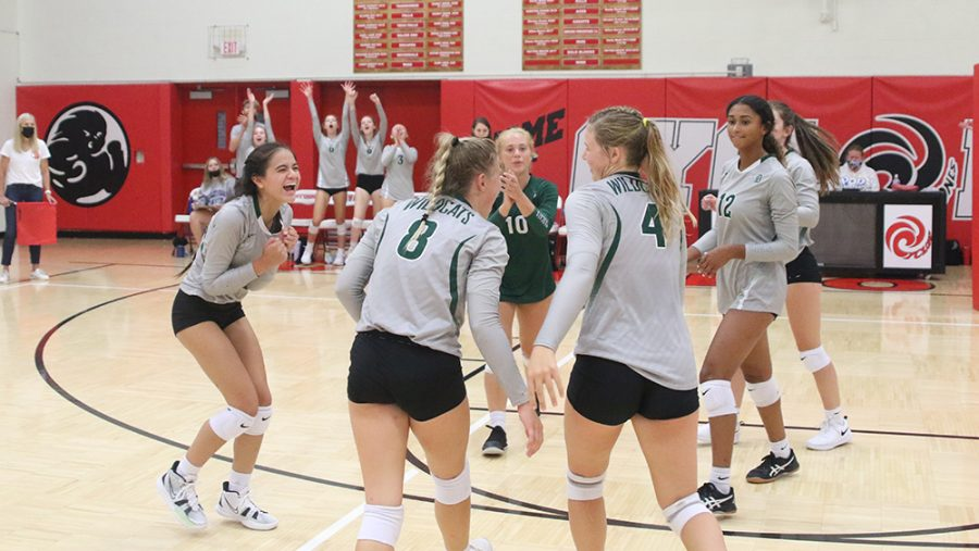 Wildcat volleyball team forming a bond in challenging season