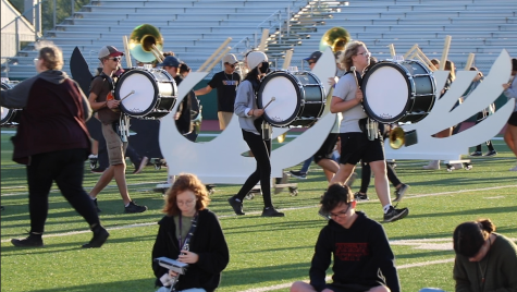 Marching band is back in full swing